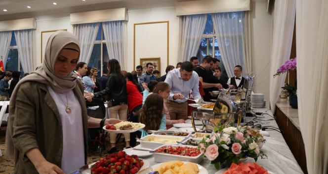 Türkiye'nin Pekin Büyükelçiliği'nde iftar verildi
