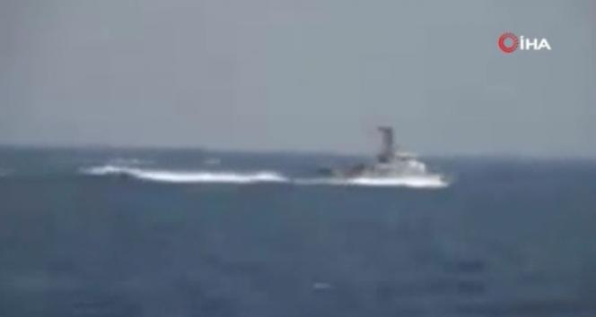 ABD, İran hücum botları ile yakın temasın görüntülerini yayınladı