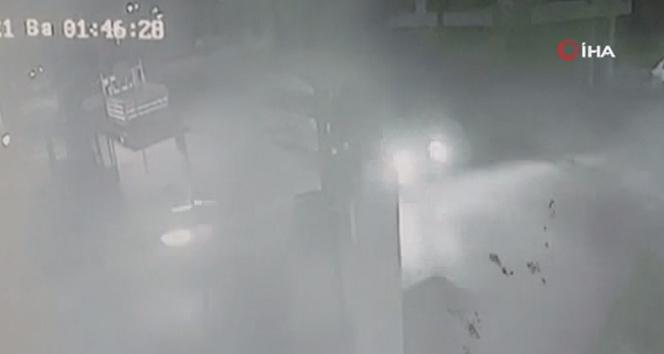 Ümraniye'de 5 kişinin yaralandığı kaza kamerada