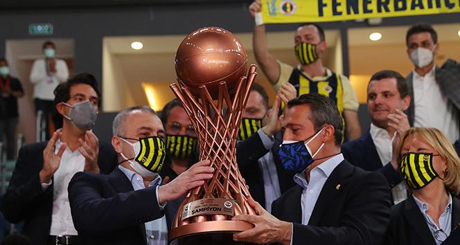 Ali Koç: 'Namağlup şampiyon olduğumuz için daha da fazla mutluyuz'