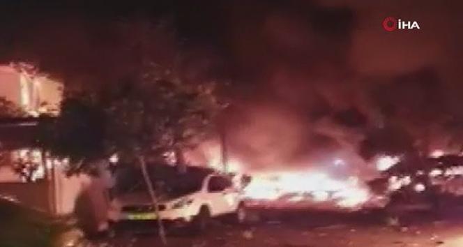 Tel Aviv'e roket saldırısı: 1 ölü, 8 yaralı