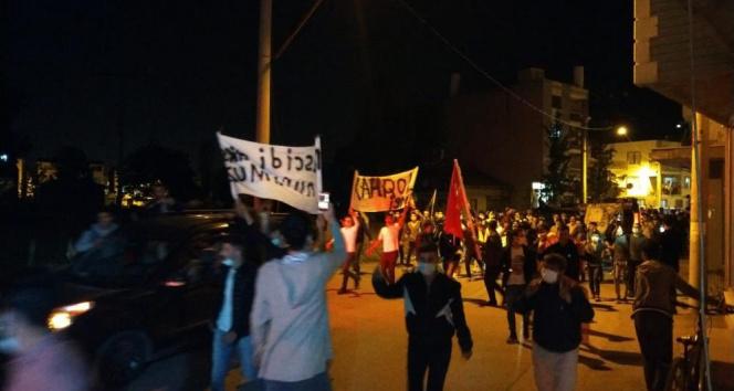 Bursa'da vatandaşlar Filistin'e destek için yürüdü
