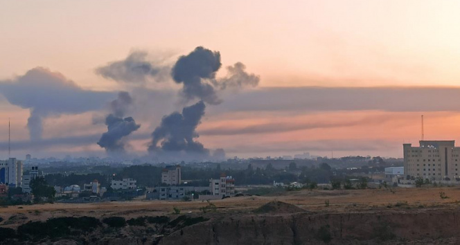 İsrail Gazze'yi bu sabah da vurdu