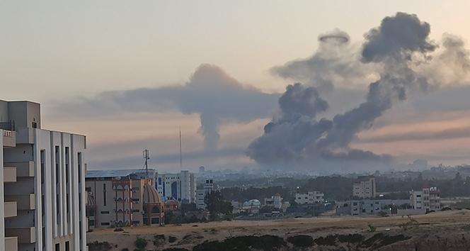 İsrail'in hava saldırılarında hayatını kaybedenlerin sayısı 65'e yükseldi