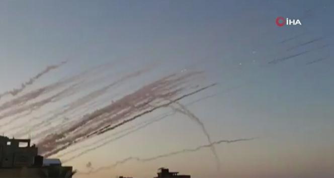 İsrail'e roket saldırısı: 7 yaralı