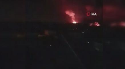 İsrailin Gazzeye saldırısı sürüyor!