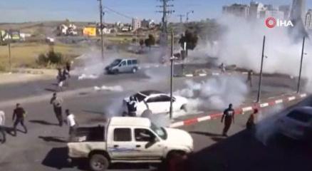 Batı Şeriadaki Gazzeye destek gösterilerinde 10 Filistinli hayatını kaybetti
