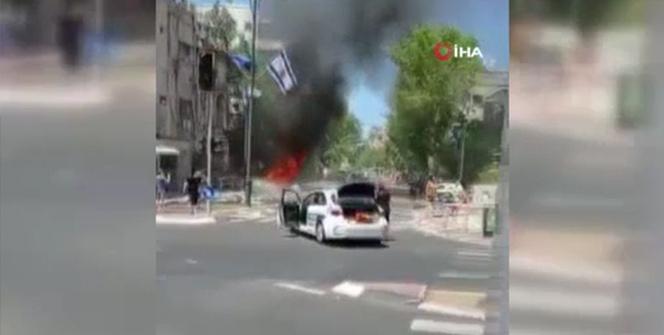 Hamastan İsrailin 10 Filistinliyi katlettiği saldırıya misilleme