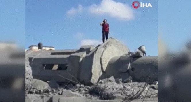 İsrail'in saldırıları ezanı dindiremedi