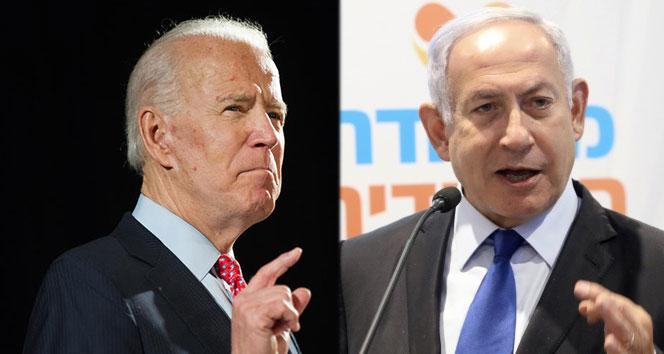 Netanyahu'dan Biden'a 'ABD'nin sarsılmaz desteği' için teşekkür