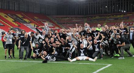 Süper Ligde 2020-2021 sezonu şampiyonu Beşiktaş!