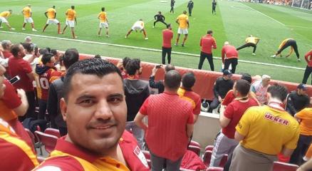 Galatasarayın üzüntüsüne kalbi dayanamadı