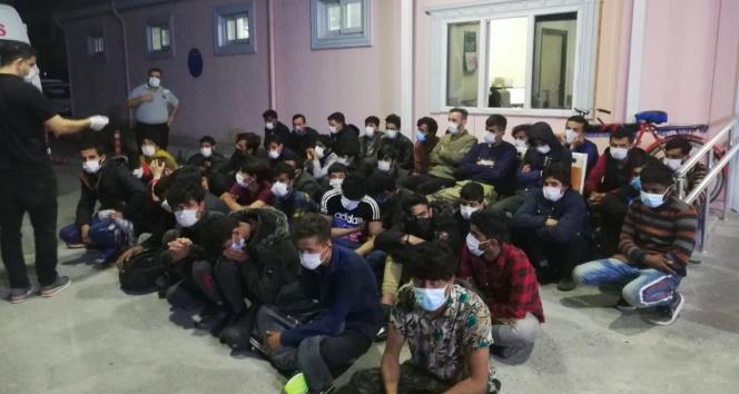 Osmaniye'de 66 düzensiz göçmen yakalandı