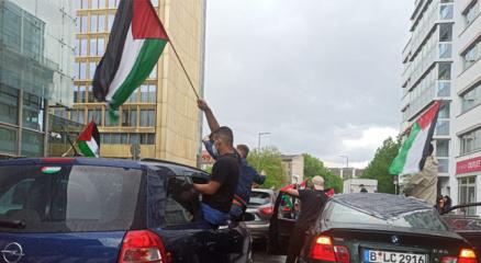 Berlinde Filistine destek