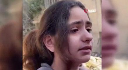Filistinli kızdan yürek burkan soru: Neden füze atarak çocukları öldürüyorsunuz