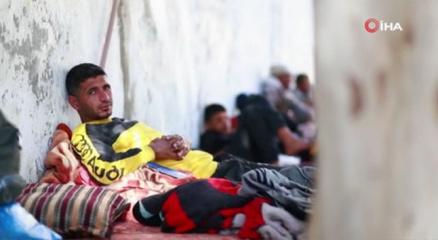 Gazzedeki BM okulları binlerce Filistinliye barınak oldu