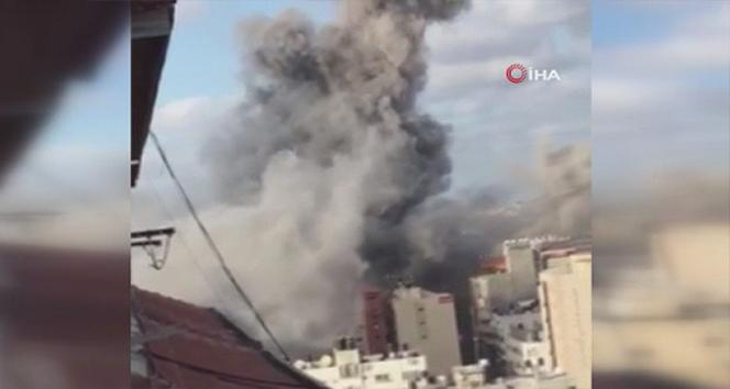 Gazze'deki merkezi laboratuvar İsrail'in saldırısında hasar aldı