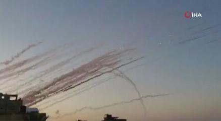 İsrail medyası: Suriyeden İsraile en az 6 roket atıldı!