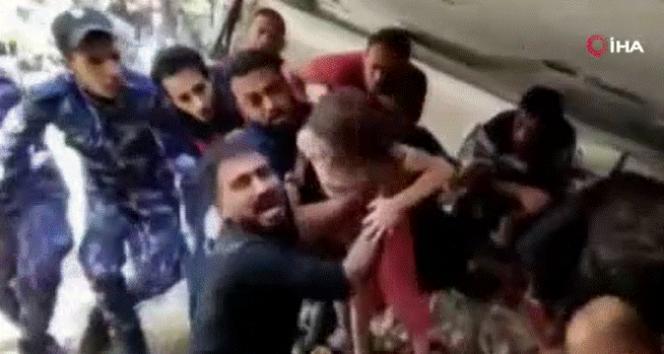 Gazze'de 7 saatin ardından 6 yaşındaki Filistinli kız enkazdan çıkarıldı