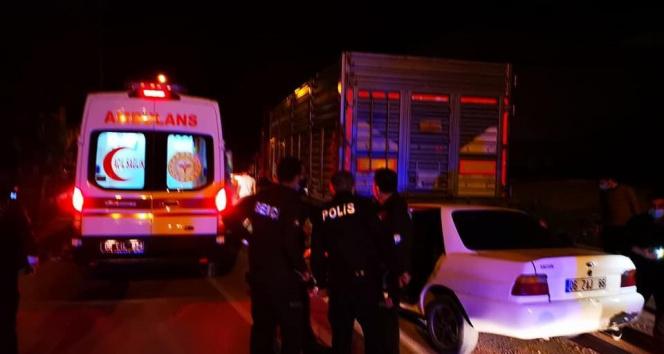 Başkent'te trafik kazası: 1 ölü, 1 yaralı!