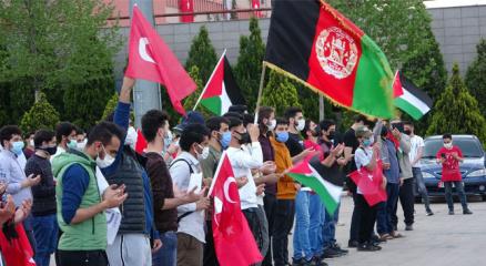 Mescid-i Aksa ve Filistinlilere saldıran İsraile tepkiler devam ediyor