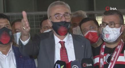 Antalyaspor Başkanından TFFye eleştiri: İstanbulun uşaklığını yapıyorlar