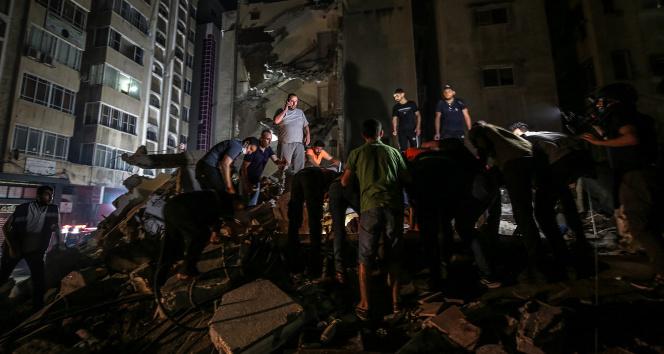 Gazze'de toplam can kaybı 217'ye ulaştı