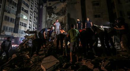 Gazzede toplam can kaybı 217ye ulaştı
