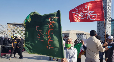 İranda, Filistine destek gösterisi