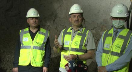 """Bakan Pakdemirli: """"Tünellerle Reyhanlı Barajına suyu taşıyıp üreticimizle buluşturacağız"""""""