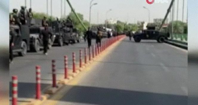 Irakta Haşdi Şabi güçleri Yeşil Bölgeyi bastı