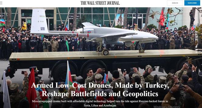 ABD medyası: 'Türk SİHA'ları çatışma bölgelerini ve jeopolitiği yeniden şekillendiriyor'