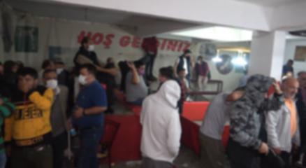 Kırıkkalede horoz dövüşü baskını: 69 kişiye 431 bin 250 lira ceza