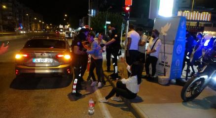 Antalyada alkollü sürücü 5 araca çarpıp hurdaya çevirdi:2 yaralı