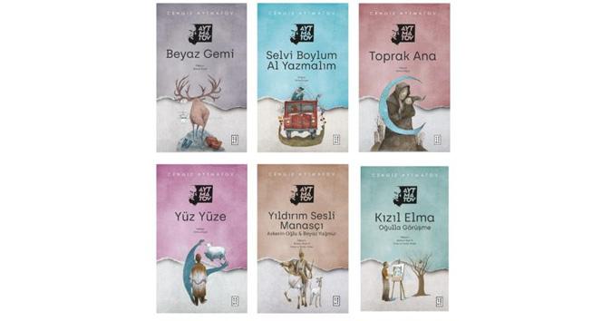 Dünya edebiyatının usta ismi Cengiz Aytmatov'un tüm eserleri şimdi sadece Ketebe'de