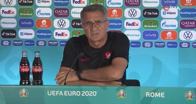 Şenol Güneş: 'Açılış maçına çıkıyoruz, finale çıkmak istiyoruz'