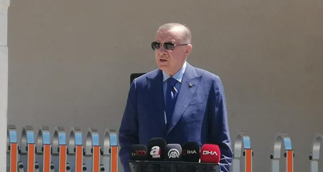 Cumhurbaşkanı Erdoğan: 'Türkiye, NATO ülkeleri arasında ilk 5'te yerini alan güçlü bir ülke'