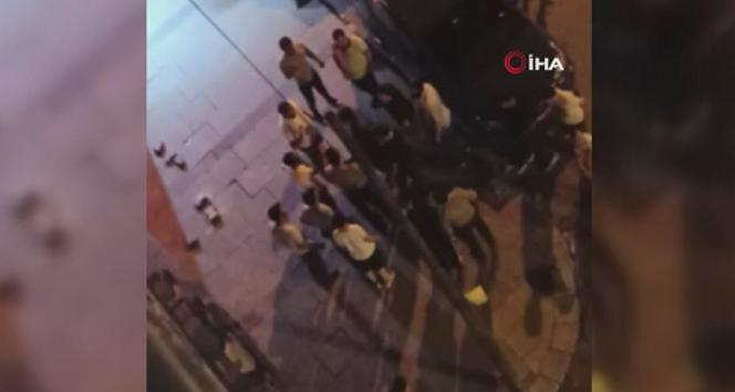 Arnavutköy'de iki grup arasında çıkan kavgayı bekçiler ayırdı