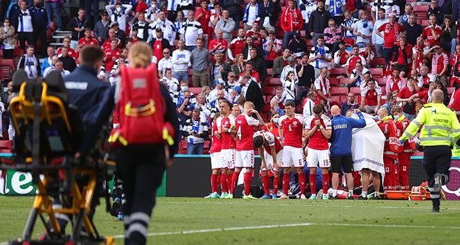 Christian Eriksen son durumu nedir! Danimarka-Finlandiya maçında korku dolu anlar!