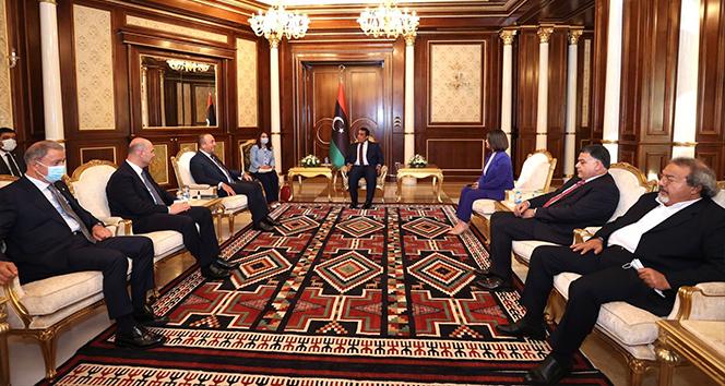 Türk üst düzey heyetinin Libya temasları sürüyor