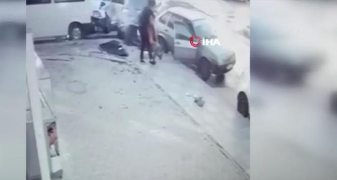 Ankara'da 2 otomobil kafa kafaya çarpıştı: 1 yaralı