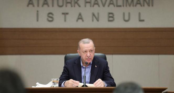 Cumhurbaşkanı Erdoğan: Hastaneye yapılan saldırıda PKKnın ne kadar kalleş bir örgüt olduğu görülmüştür