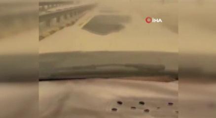 Kuveyti kum fırtınası vurdu