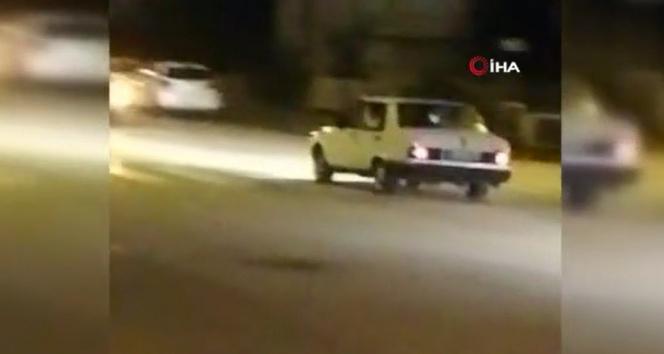 Başkent'te asker uğurlama konvoyunda silah sesleri