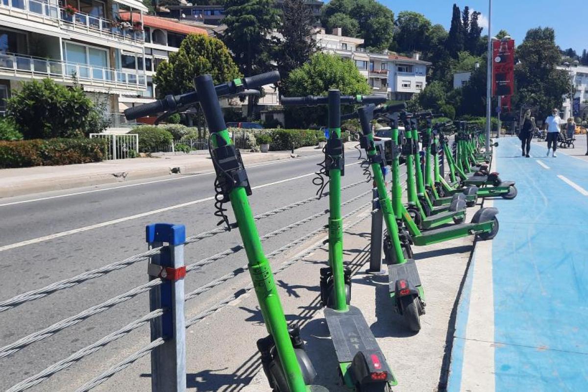 Elektrikli scooterlar kazaya davetiye çıkartıyor