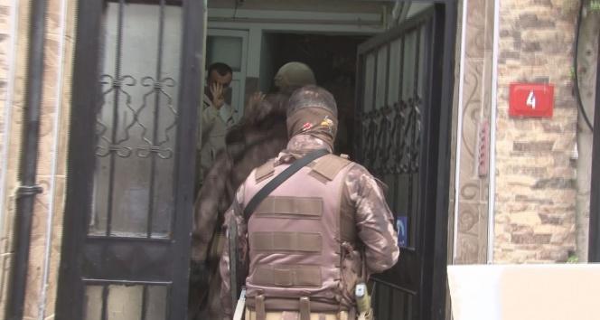 İstanbul Fatihte dev narkotik operasyonu