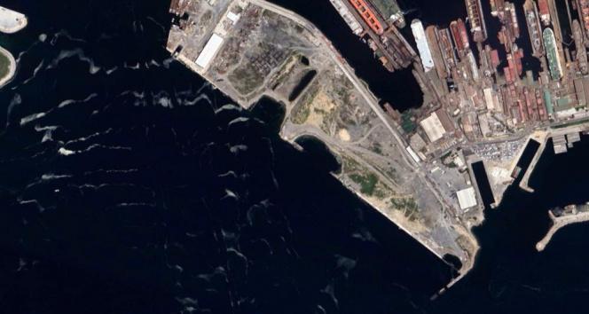 İstanbuldaki müsilaj uzaydan görüntülendi