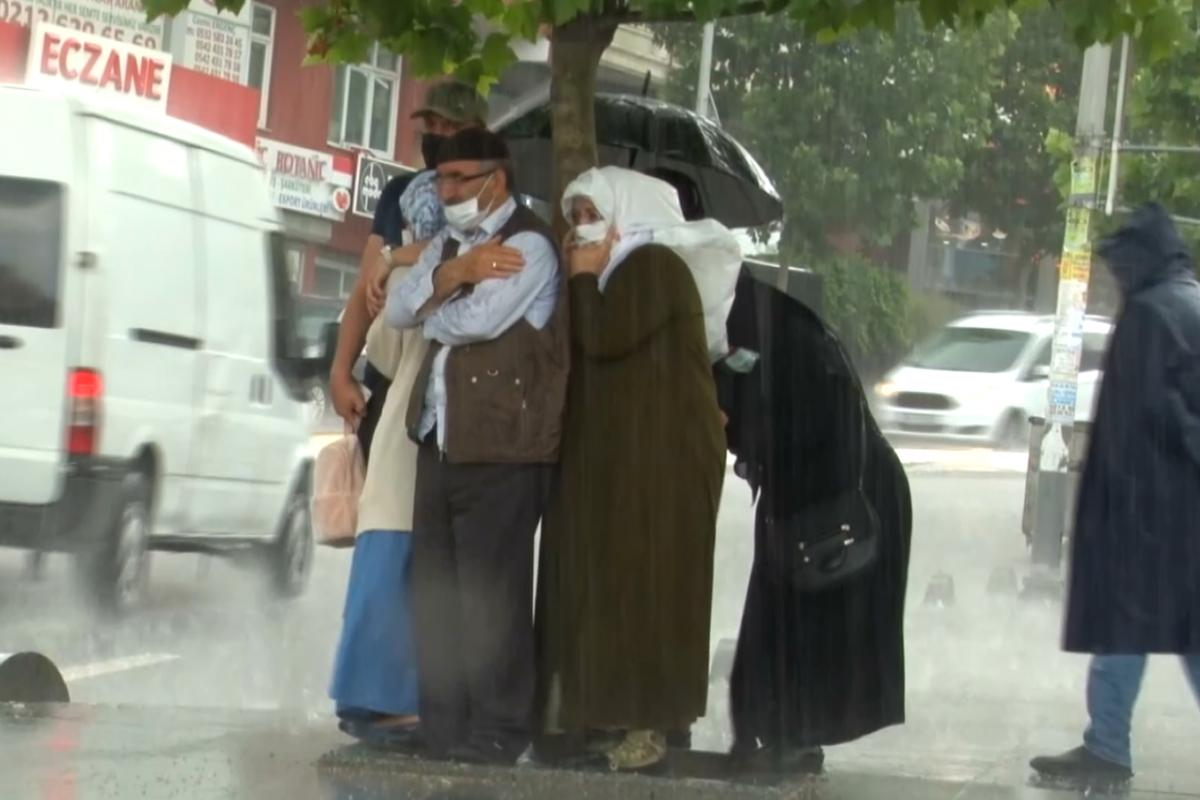 İstanbul'da şiddetli yağmur
