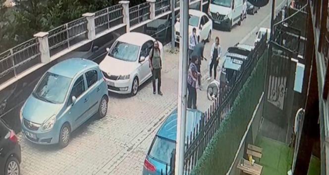 Ataşehirdeki cinayetin güvenlik kamera görüntüsü ortaya çıktı