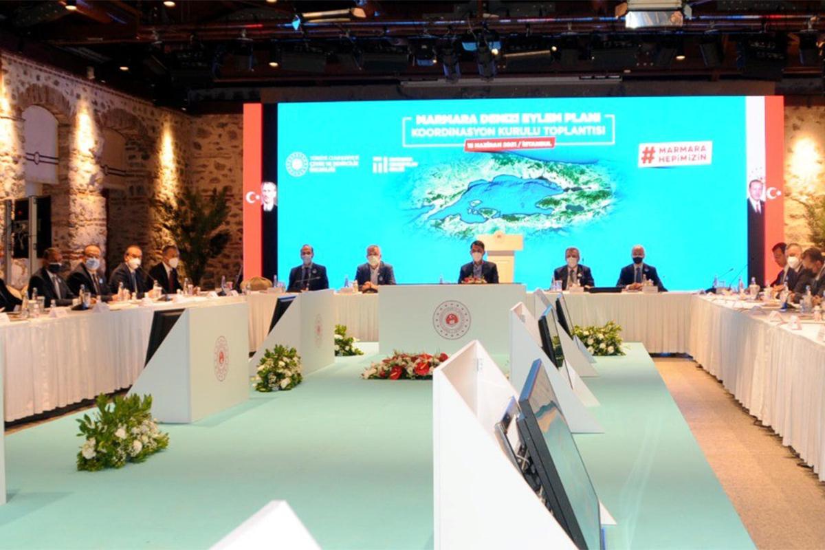 Bakan Kurum, Marmara Denizi Koruma Eylem Planı'nı açıkladı